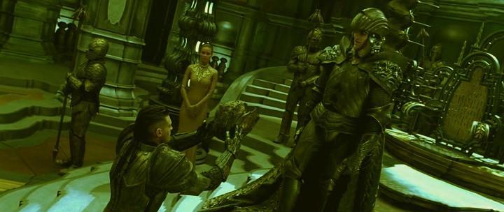 Кадры из фильма хроники риддика тёмная ярость смотреть