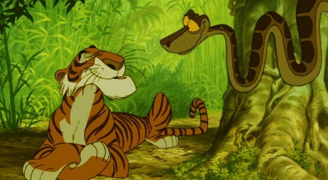 Книга джунглей мультфильм 1967